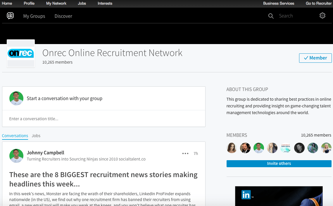 onrec-online-recruitment-network-linkedin-group