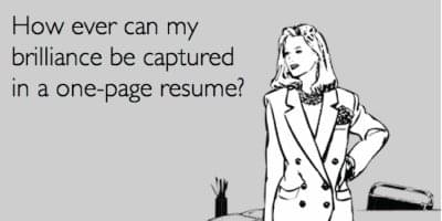one-page-resume-funny