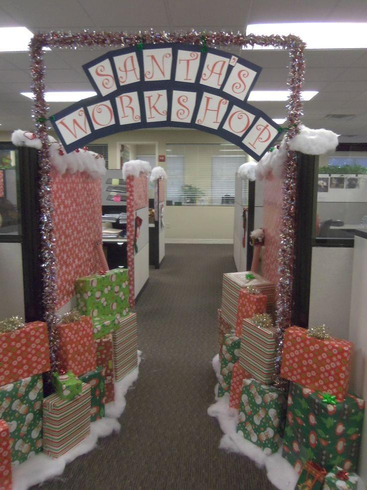 b81daf2501efbb5d41364f6f61819870 best office christmas decorations