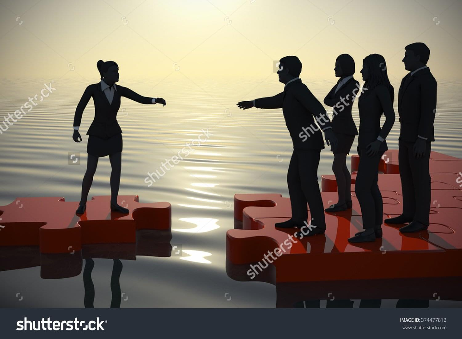stock-photo-jigsaw-puzzle-recruiting-a-new-lady-executive-at-dawn-by-the-sea-a-successful-team-recruiting-a-374477812