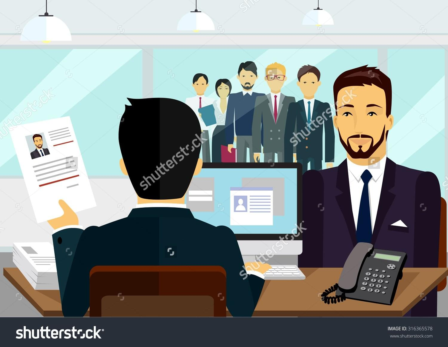 stock-vector-concept-of-hiring-recruiting-interview-look-resume-the-applicant-employer-candidate-and-316365578