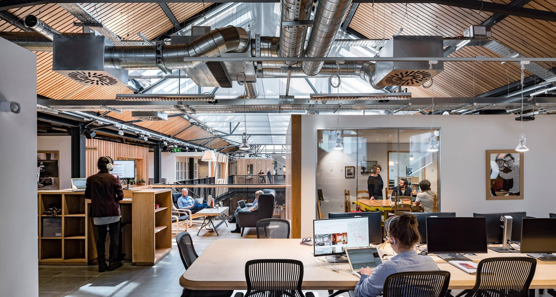 10 of the slickest office spaces around the world social talent - Airbnb office dublin address ...