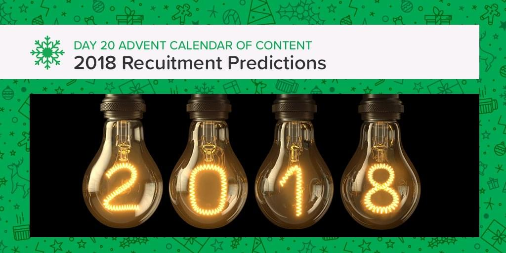 Recruitment Trends You NEED to know for a successful 2018