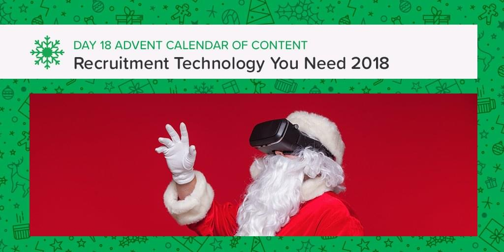 Best recruitment tech for 2018