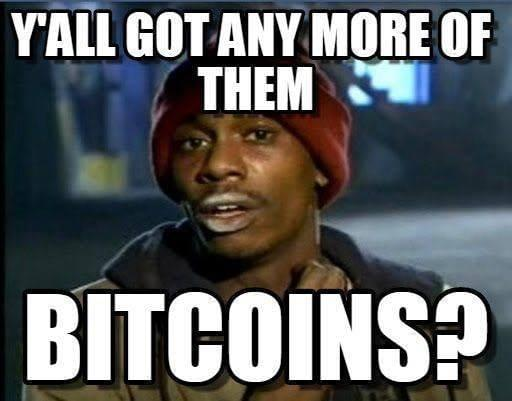 joining the bitcoin club late