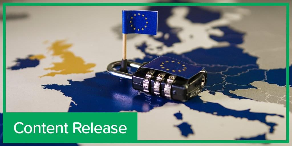 content release: GDPR