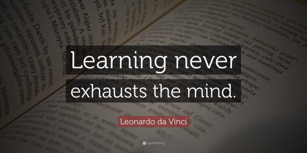 the importance of learning