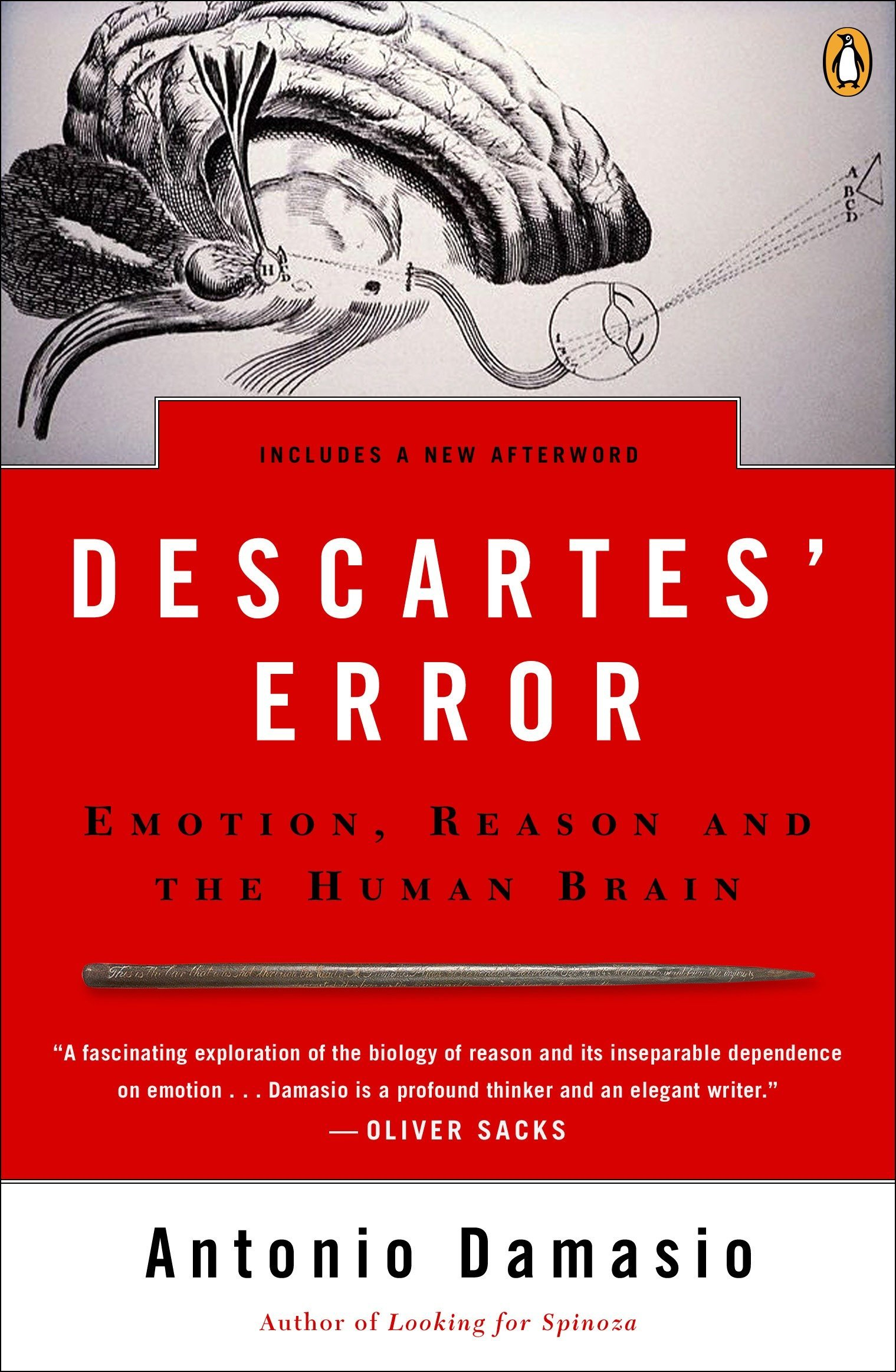 Descartes Error by Antonia Demasio