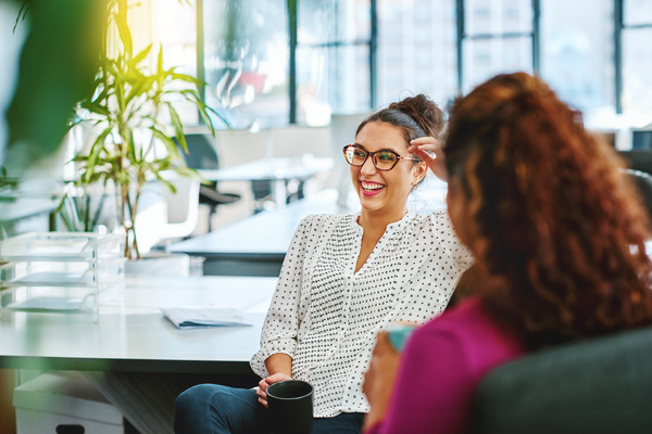 make time for small talk - positive candidate experience