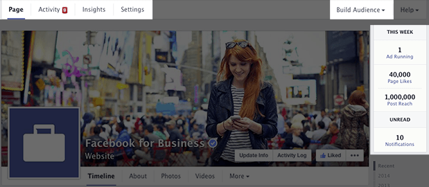 Facebook Company Page Update