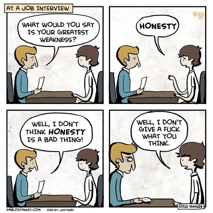 Job Interview Honesty | Recruitment Meme