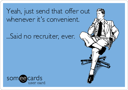 Convenience | Recruitment Meme