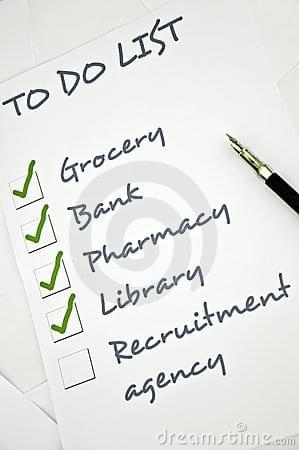To do list | Bad stock photography