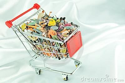People trolley | Bad stock photography